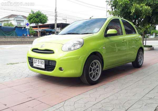 NISSAN MARCH ปี 2010