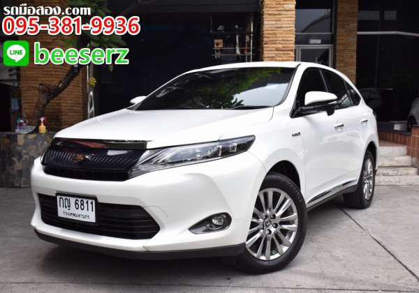 TOYOTA HARRIER ปี 2015