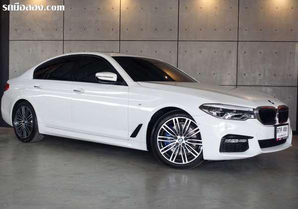 บีบีเอ็มดับบลิว ซีรี่ย์ 5 รุ่น 530 ไอ มือสอง BMW 5 SERIES 530I 2018 กรุงเทพมหานคร บางแค เกียร์เกียร์อัตโนมัติ BMW 5 SERIES 530I ปี 2018 2000CC. 1990000 สีขาว 9กค468