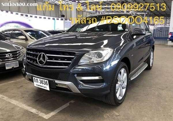 BENZ ML-CLASS ML250 CDI ปี 2012
