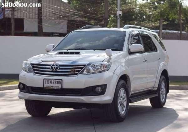 TOYOTA FORTUNER ปี 2013