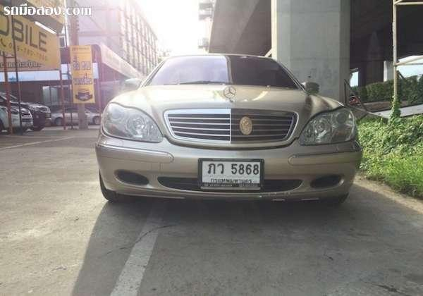 BENZ S-CLASS S280 ปี 2001